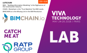 BIMCHAIN.io at Vivatech 2018